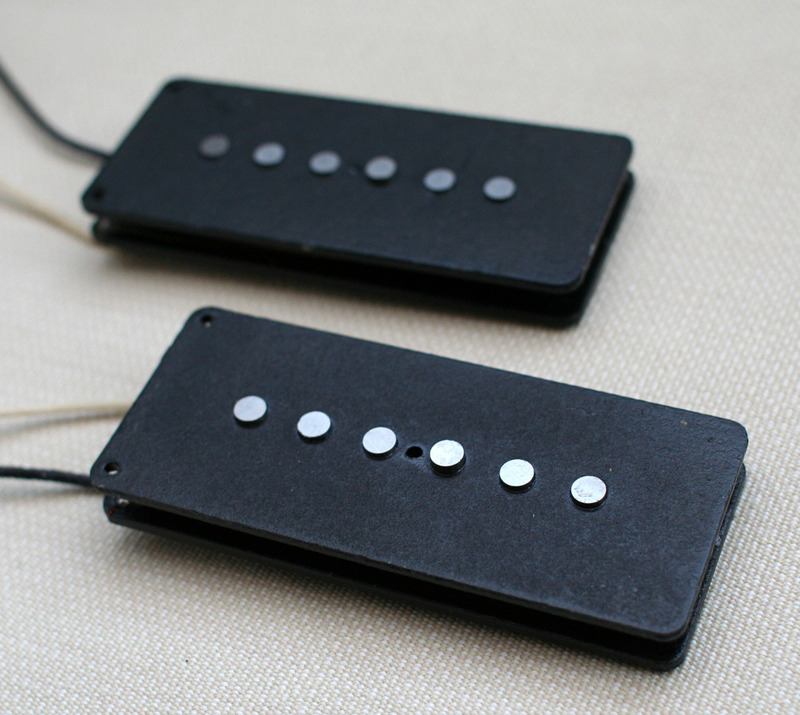 Lindy Fralin Jazzmaster Stock pickup set - white