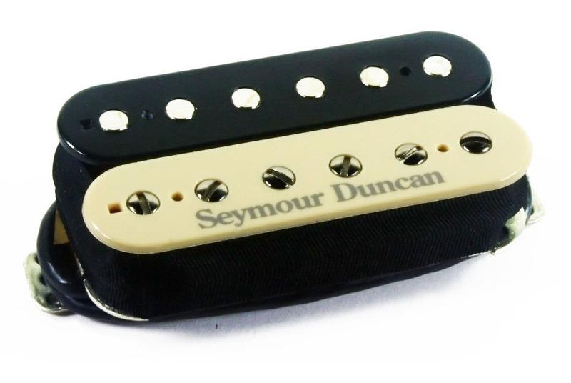 seymour duncan tb-5 duncan custom bridge trembucker - zebra - macdaddy music