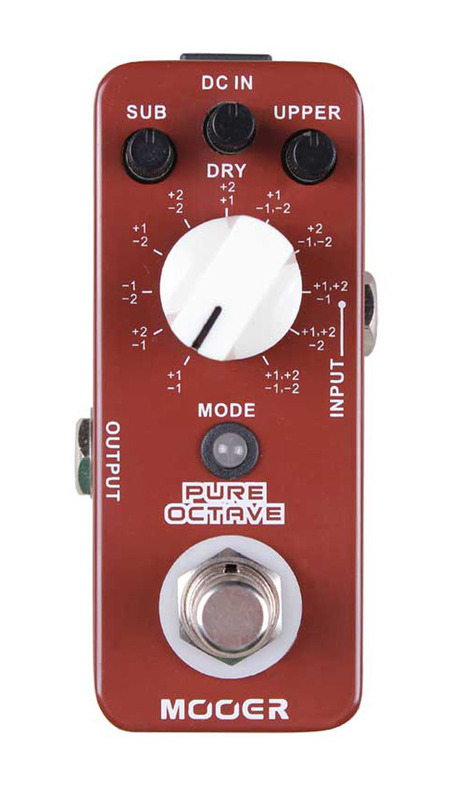 Mooer Audio Pure Octave Polyphonic Octave pedal