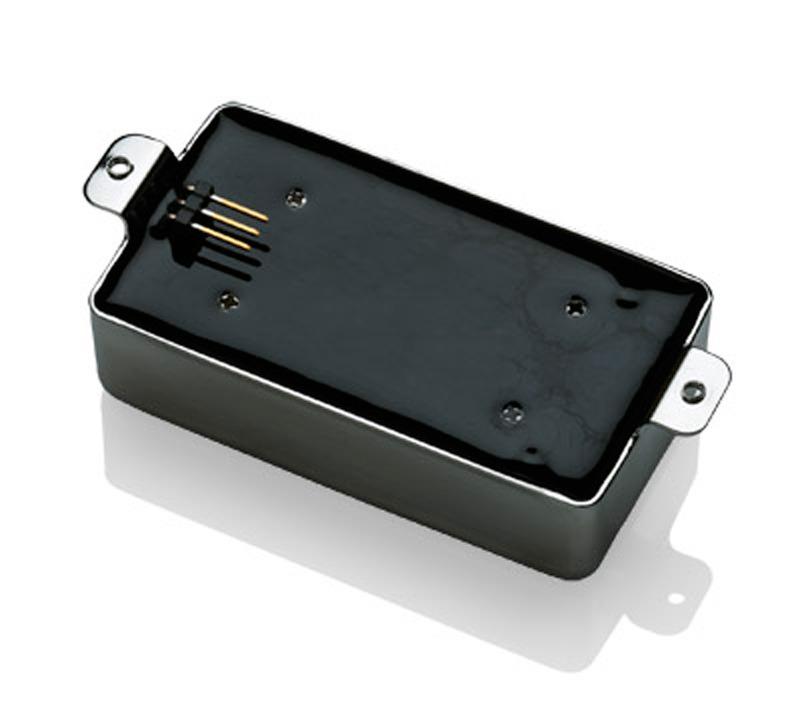 EMG 57 / 66 Active Alnico V Humbucker set - brushed chrome