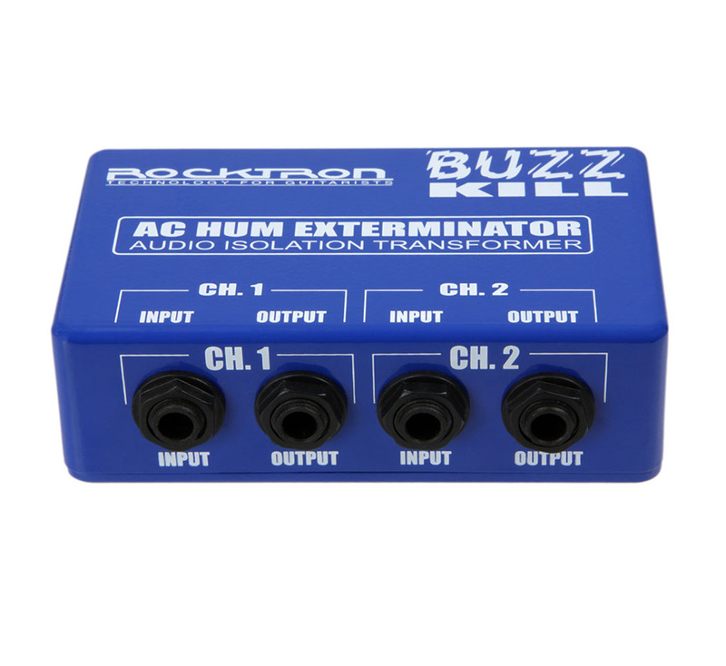 Rocktron Buzz Kill AC Hum Exterminator Audio Isolation Transformer