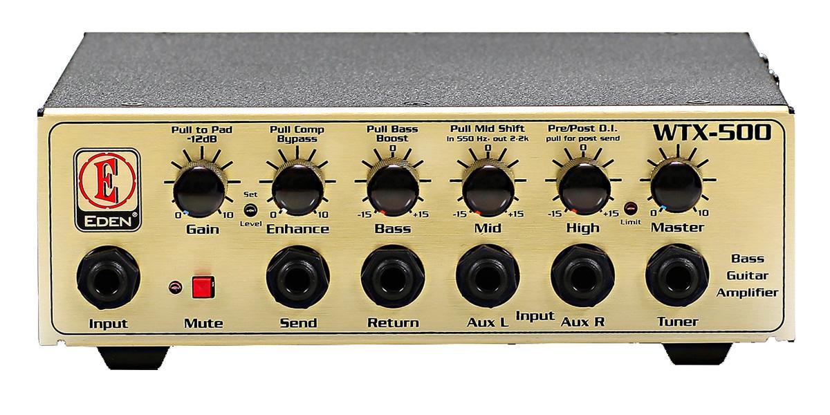 Eden Amplification WTX500 WTX Series Bass Amp