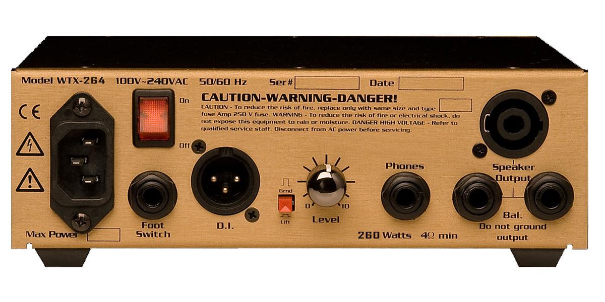 Eden Amplification WTX264 WTX Series Bass Amp