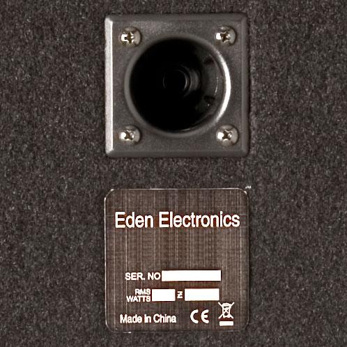 """Eden Amplification EGRW1264 WTX264 Bass Amp & EX112 1x12"""" Bass Cab"""