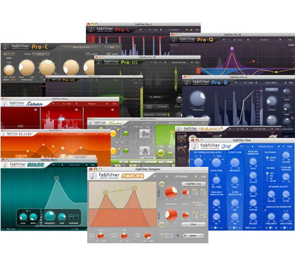 FabFilter Total Bundle Plug-in - download