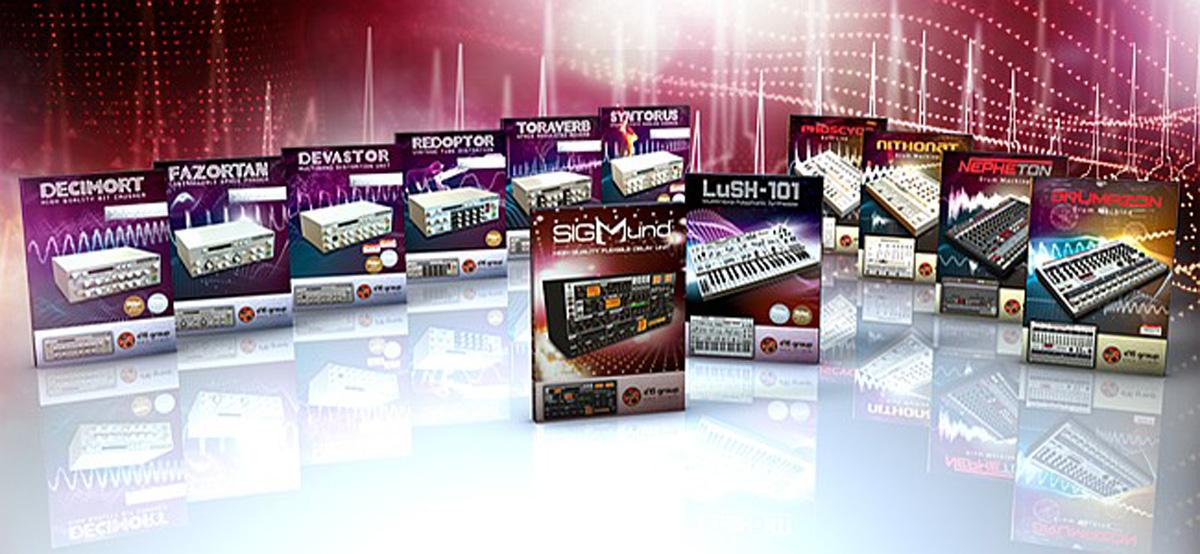 D16 Group Total Bundle plug-in - download