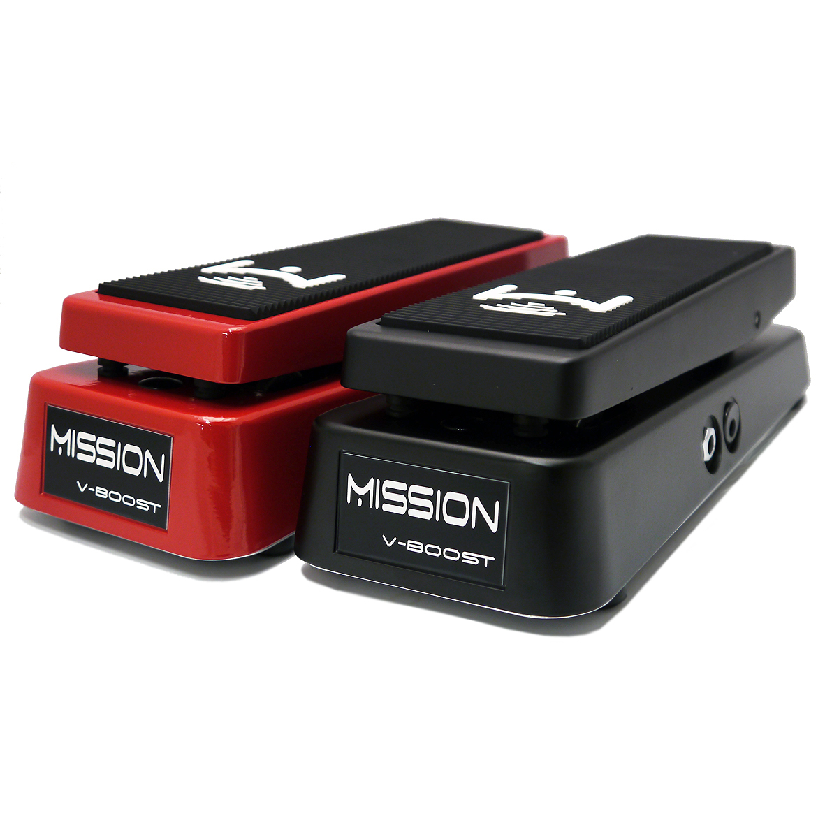Mission Engineering V-Boost Variable Boost / Overdrive Pedal - red