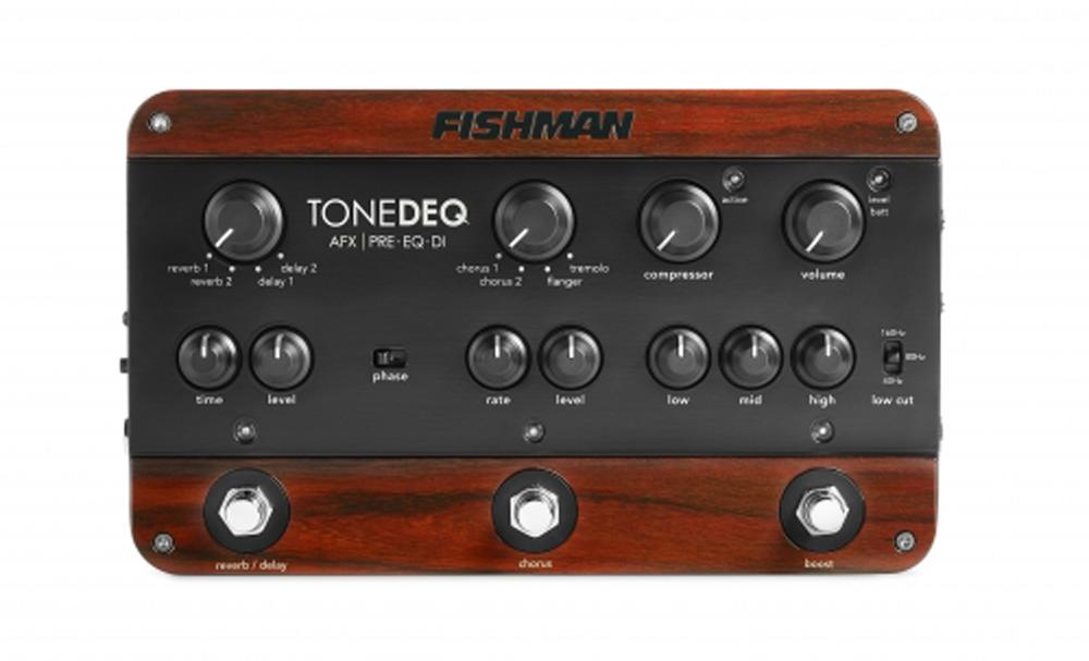 Fishman ToneDEQ Acoustic Guitar Preamp / EQ / DI pedal