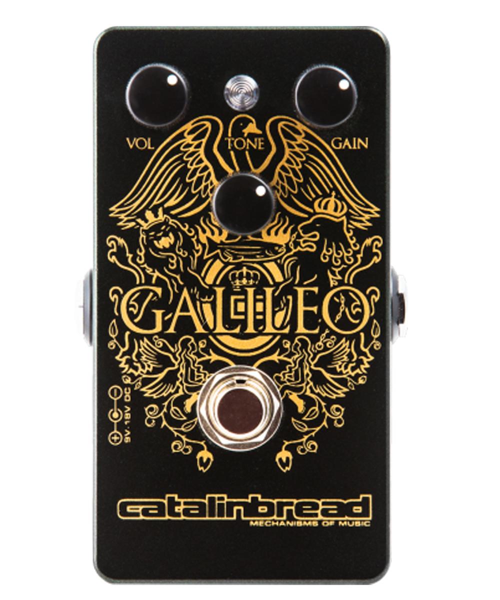 Catalinbread Galileo Treble Booster pedal