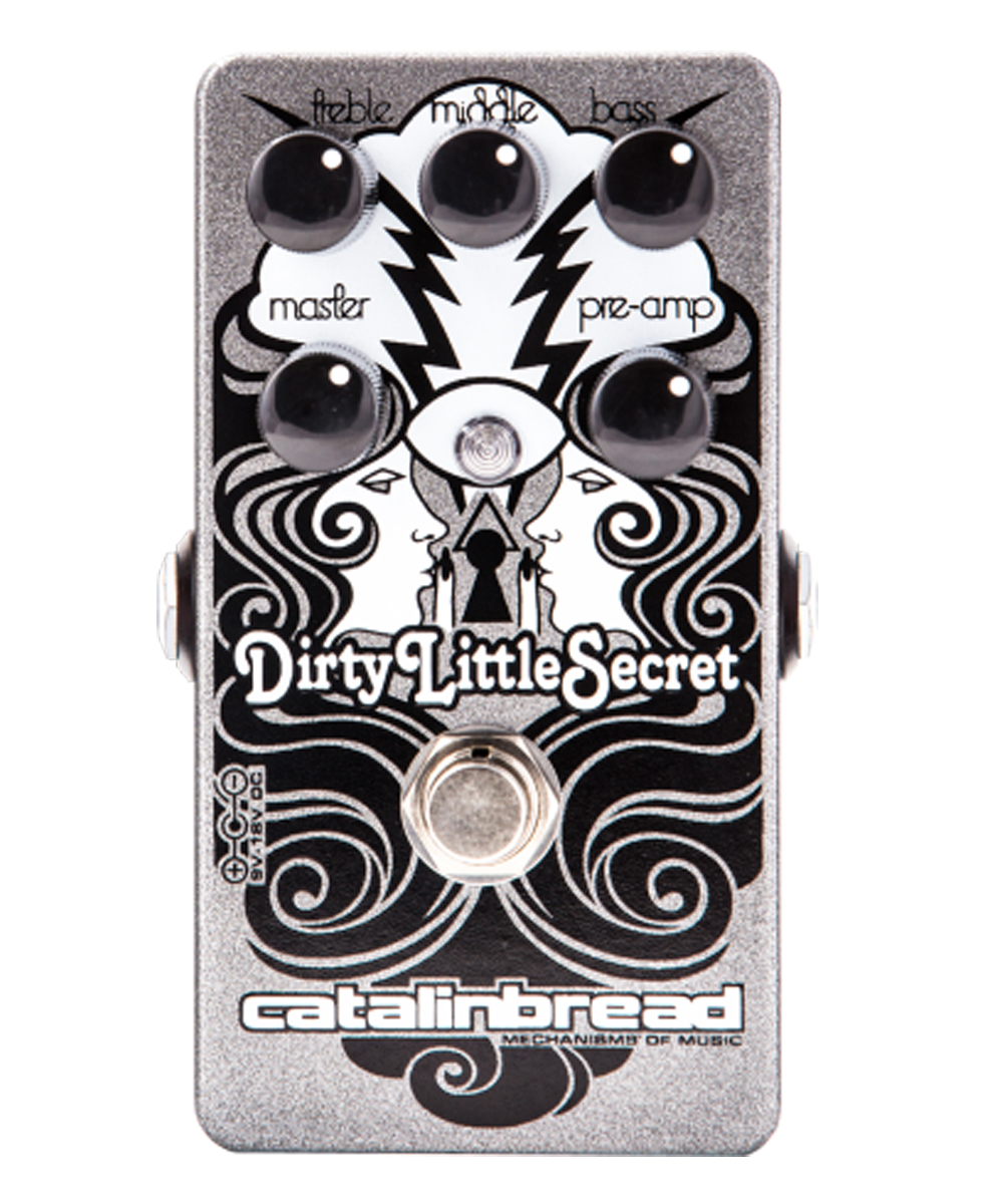 Catalinbread Dirty Little Secret MKIII Marshall Emulator pedal