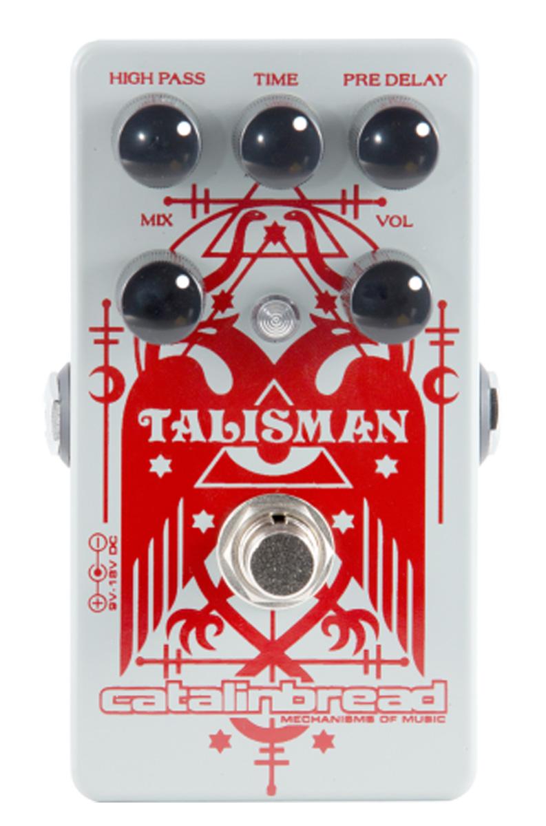 Catalinbread Talisman Plate Reverb pedal