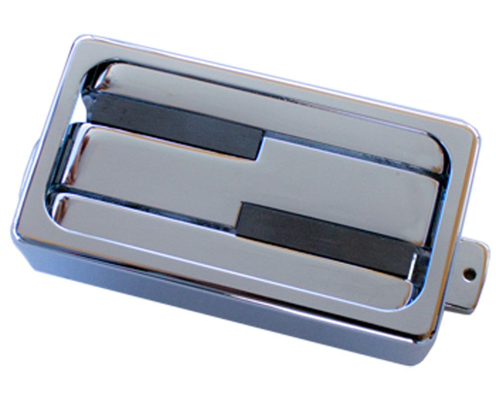 Lace Alumitone Deathbucker Humbucker chrome w/ chrome mounting ring