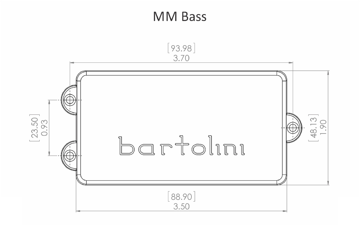 Bartolini MM4CBC Music Man 4 String Dual Coil pickup on music amplifier wiring diagram, music man body, music man bass, music man schematic, g10 guitar amp wire diagram, music man jp wiring, music man cabinet, fender jazz bass control diagram,