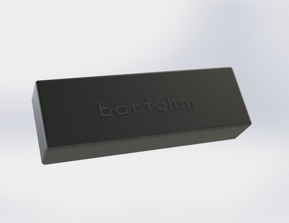 Bartolini M55CBC-T 5 String Bass Soapbar Dual Coil bridge pickup