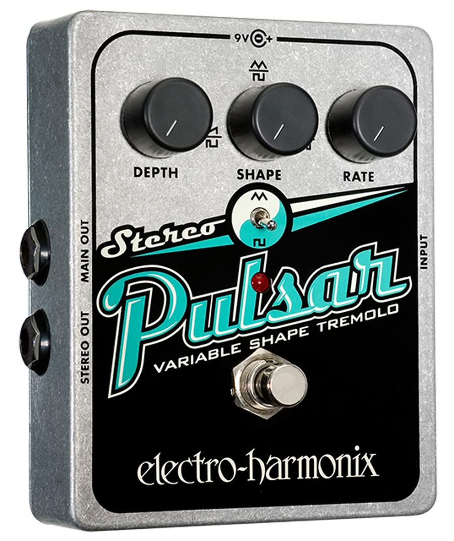 Electro-Harmonix Stereo Pulsar tremolo/vibrato
