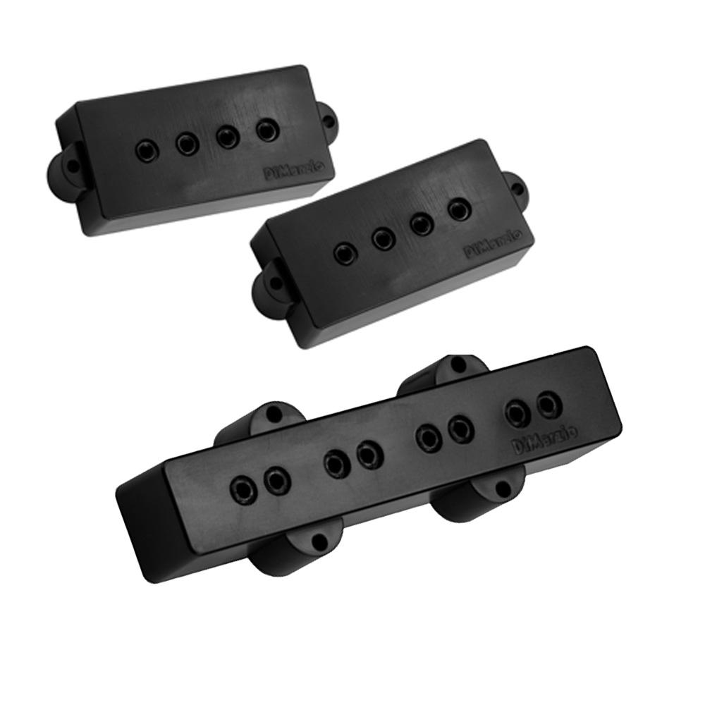 DiMarzio DP126 Model P+J Precision / Jazz bass pickup set