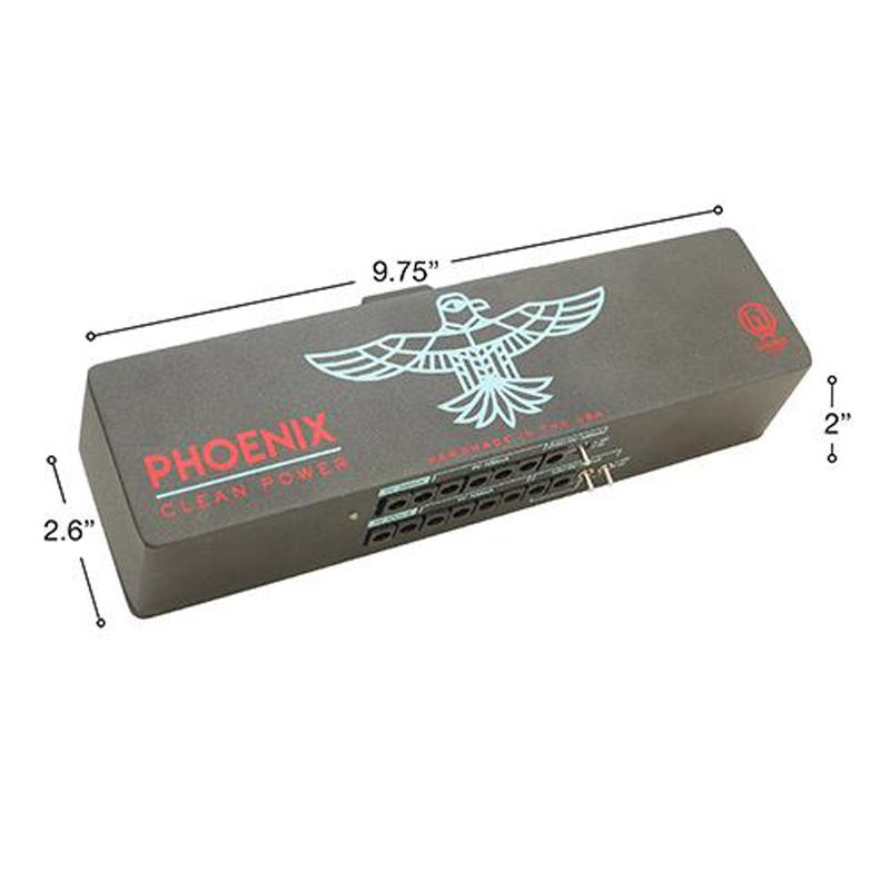 Walrus Audio Phoenix Clean Power Supply - 15 outs