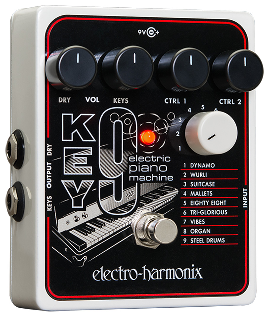 Electro-Harmonix Key 9 Electric Piano Machine pedal