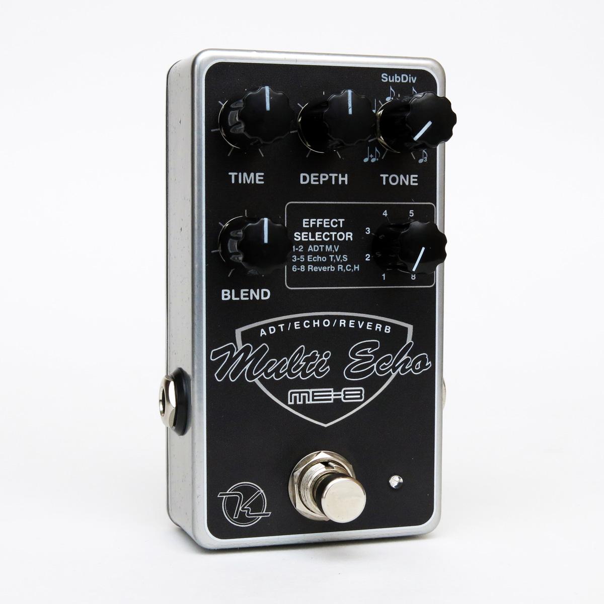 Keeley Electronics ME-8 Multi-Echo Delay / Reverb pedal