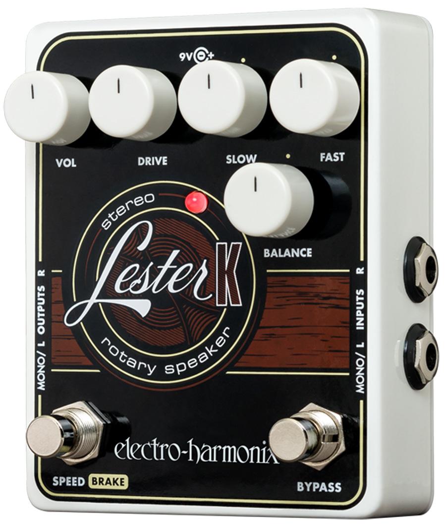 Electro-Harmonix Lester K Stereo Rotary Speaker pedal for keys