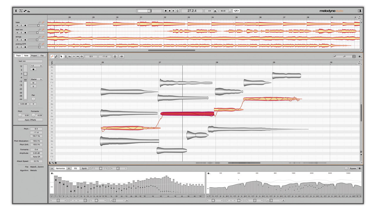 Celemony Melodyne 4 Studio Bundle ( Studio and Editor) - digital ...