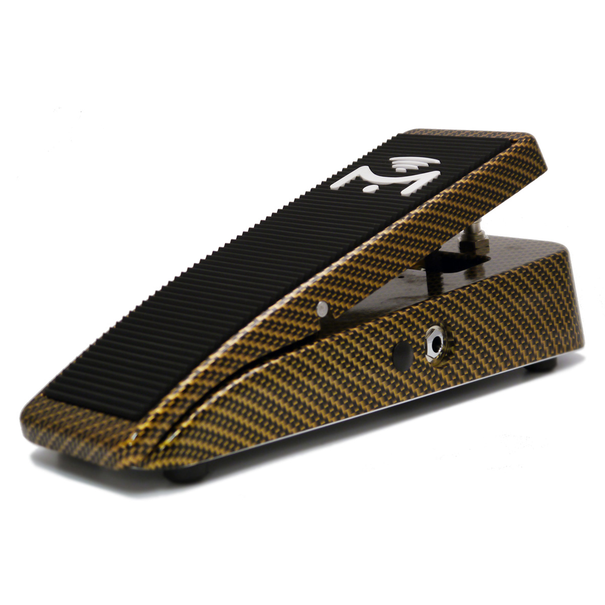 Mission Engineering SP-25-M Pro Aero Dual Channel Expression Pedal w/ Toe Switch - gold carbon