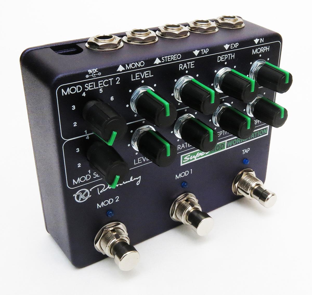 Keeley Electronics Super Mod Workstation pedal
