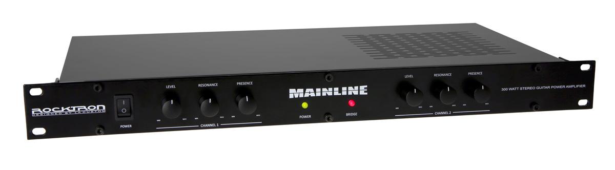 Rocktron Mainline 300 Watt Stereo Guitar Power Amplifier
