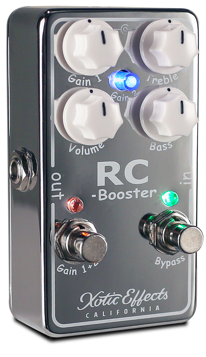 Xotic Effects RC Booster V2 boost pedal