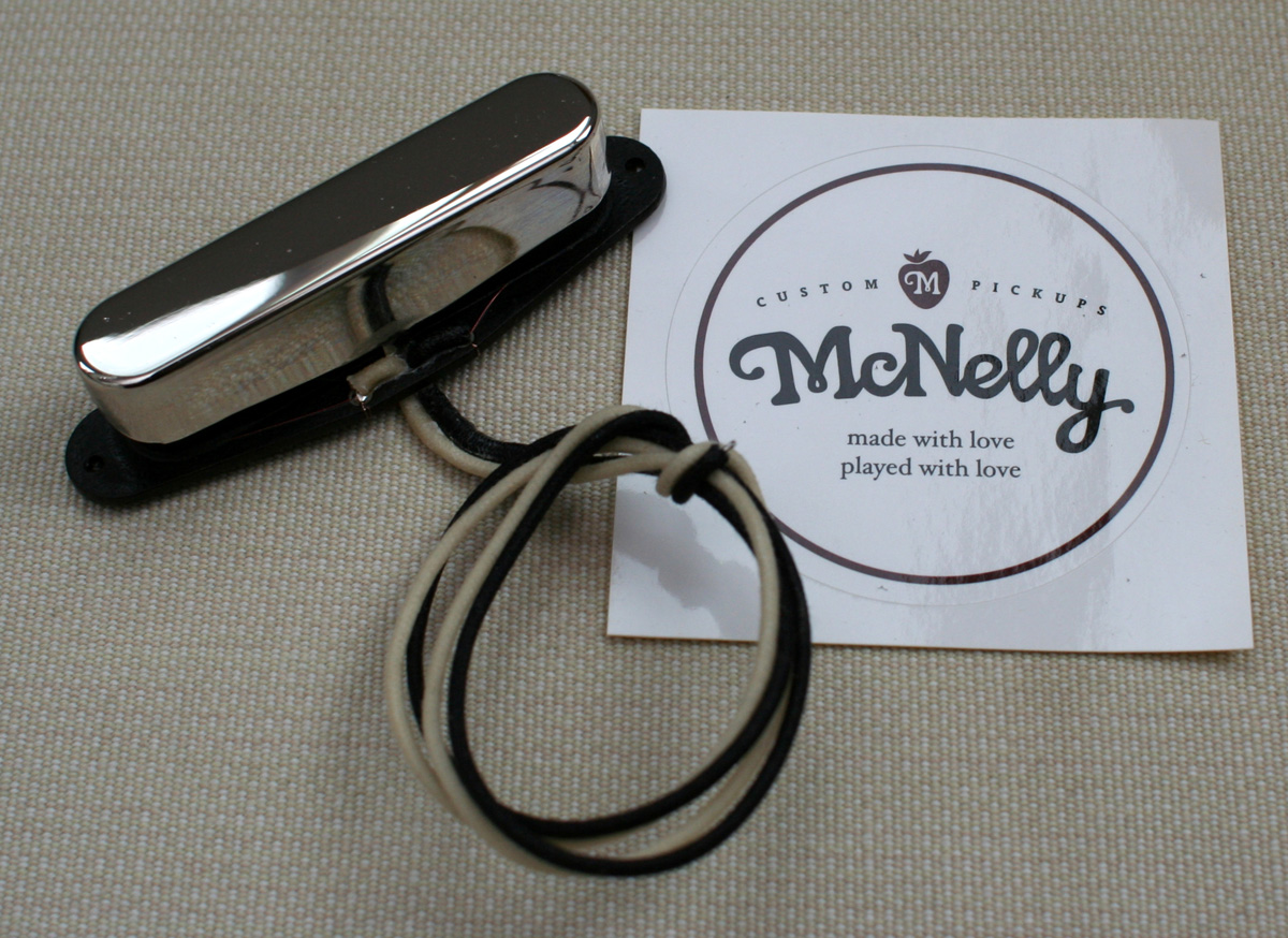 McNelly Pickups A2 Signature Plus Tele Pickup set - nickel neck