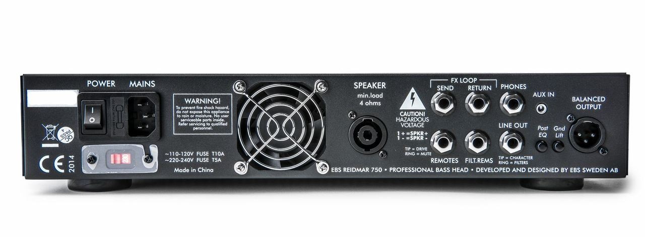 EBS Reidmar 750 Watt Bass Amplifier
