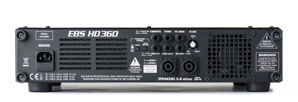 EBS HD360 360 Watt Bass Amplifier