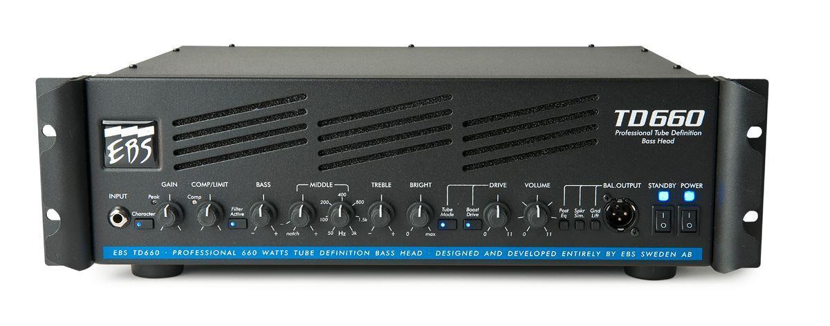 EBS TD660 660 Watt Bass Amplifier
