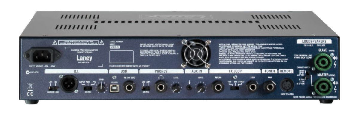 Laney Nexus Studio Live 1000 Watt Bass Amp