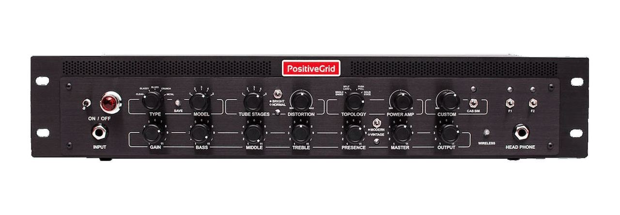 Positive Grid BIAS Rack Processor Amp Matching Preamplifier