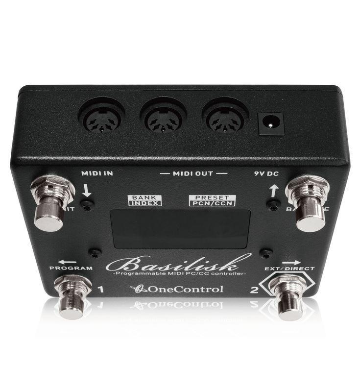 One Control Basilisk Programmable MIDI Controller