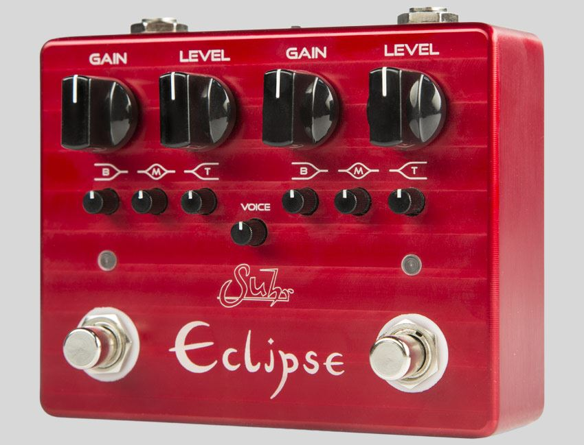 Suhr Eclipse Dual Channel Distortion / Overdrive pedal