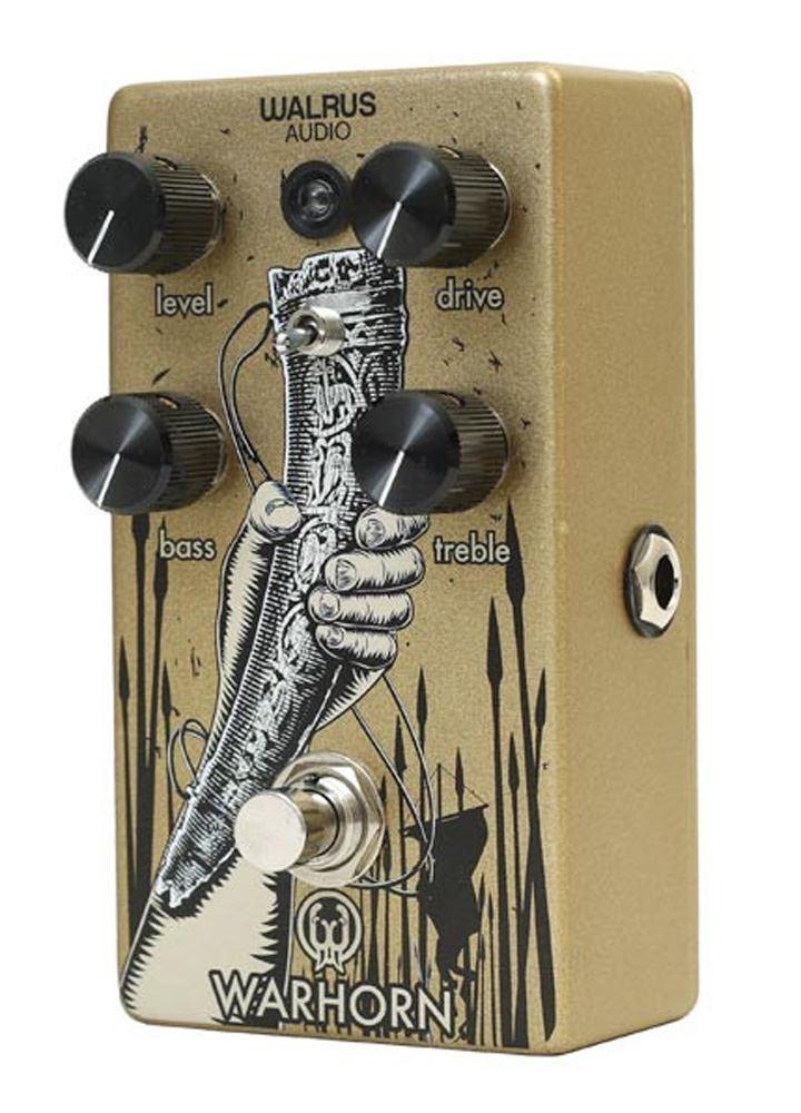 Walrus Audio Warhorn Mid-Range Overdrive pedal