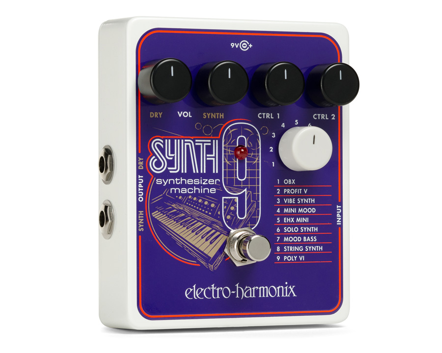 Electro-Harmonix Synth 9 Synthesizer Machine pedal