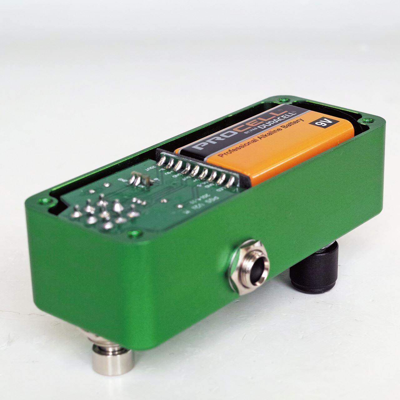 One Control BJF Persian Green Screamer pedal