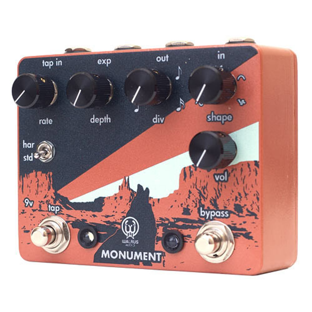 Walrus Audio Monument Harmonic Tap Tremolo pedal