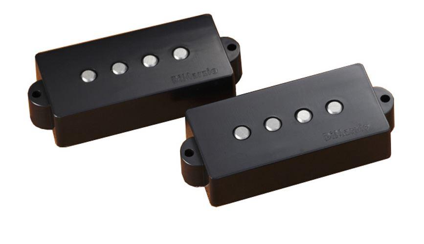 DiMarzio DP251 Area P & J Bass pickup set - black