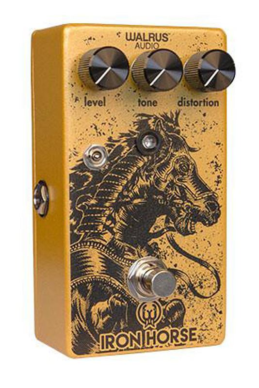 Walrus Audio Iron Horse LM308 v2 Distortion pedal