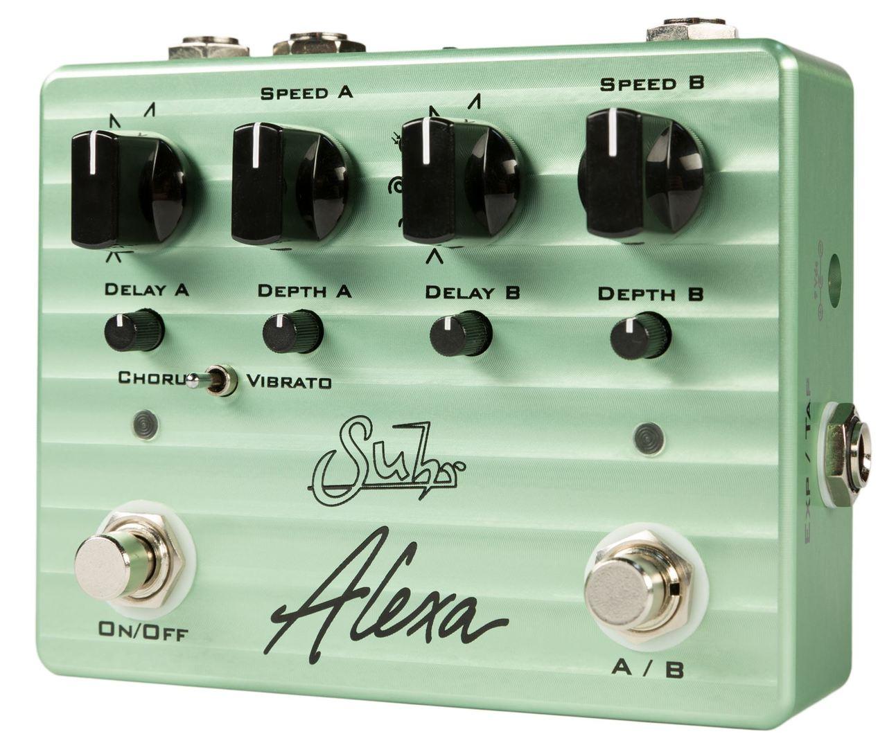 Suhr Alexa Dual Channel Multi-Wave Chorus / Vibrato pedal