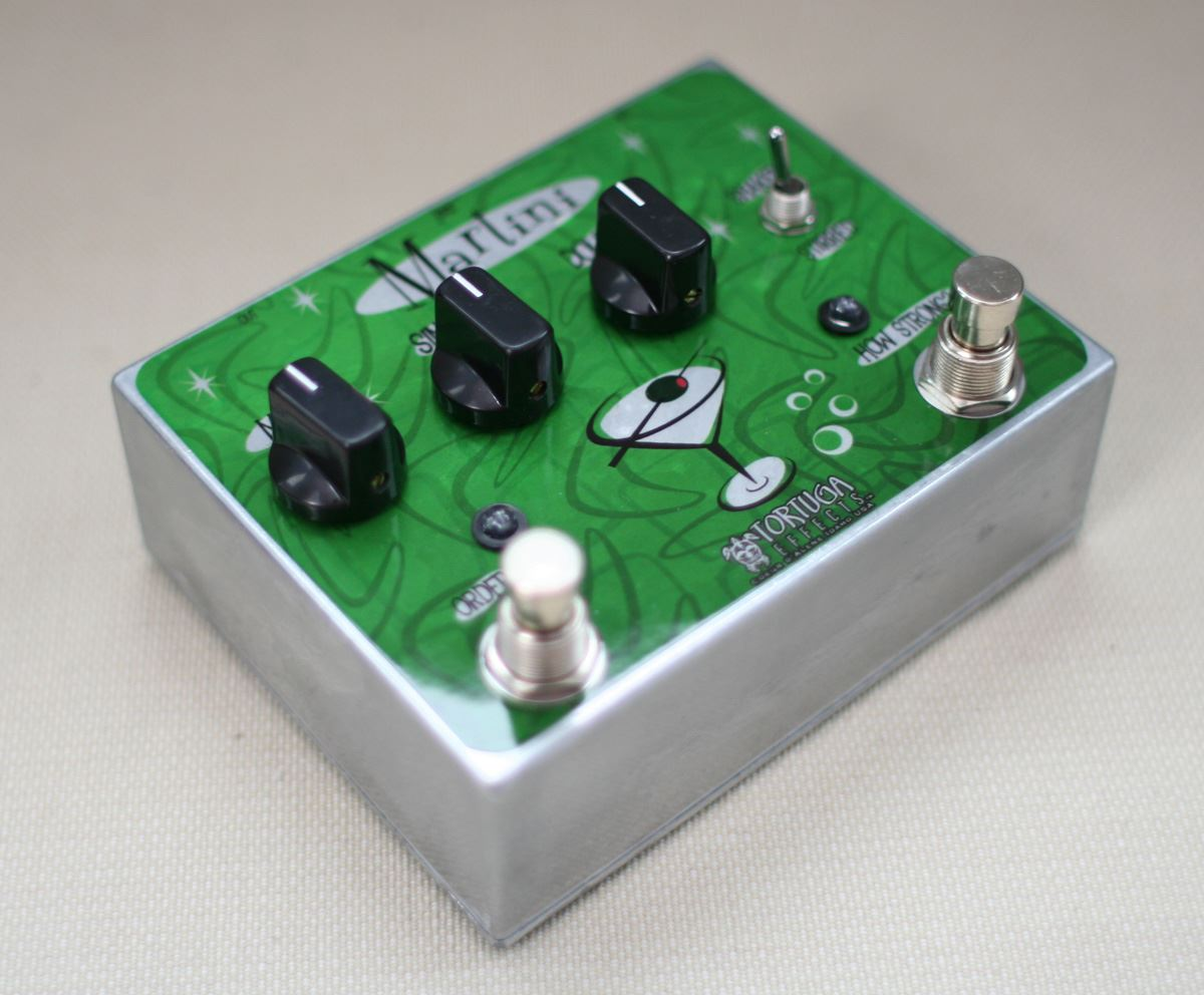 Tortuga Effects Martini Dual Analog Chorus / Vibrato pedal