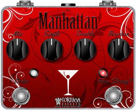 Tortuga Effects Manhattan Dual Analog Phaser pedal