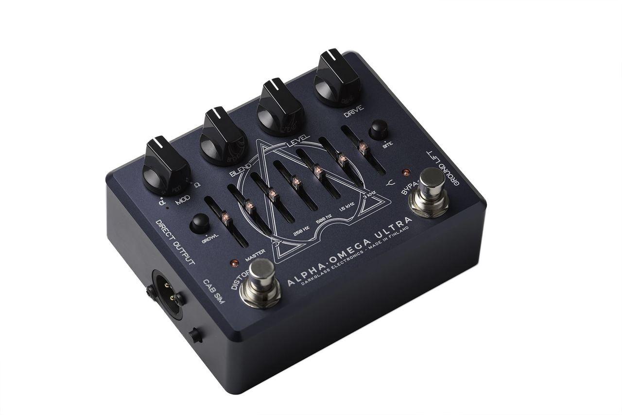 Darkglass Electronics Alpha Omega Ultra distortion pedal w/ EQ & USB