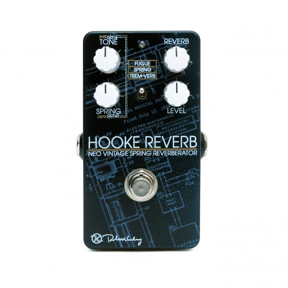 Keeley Electronics Hooke Neo Spring Reverb pedal