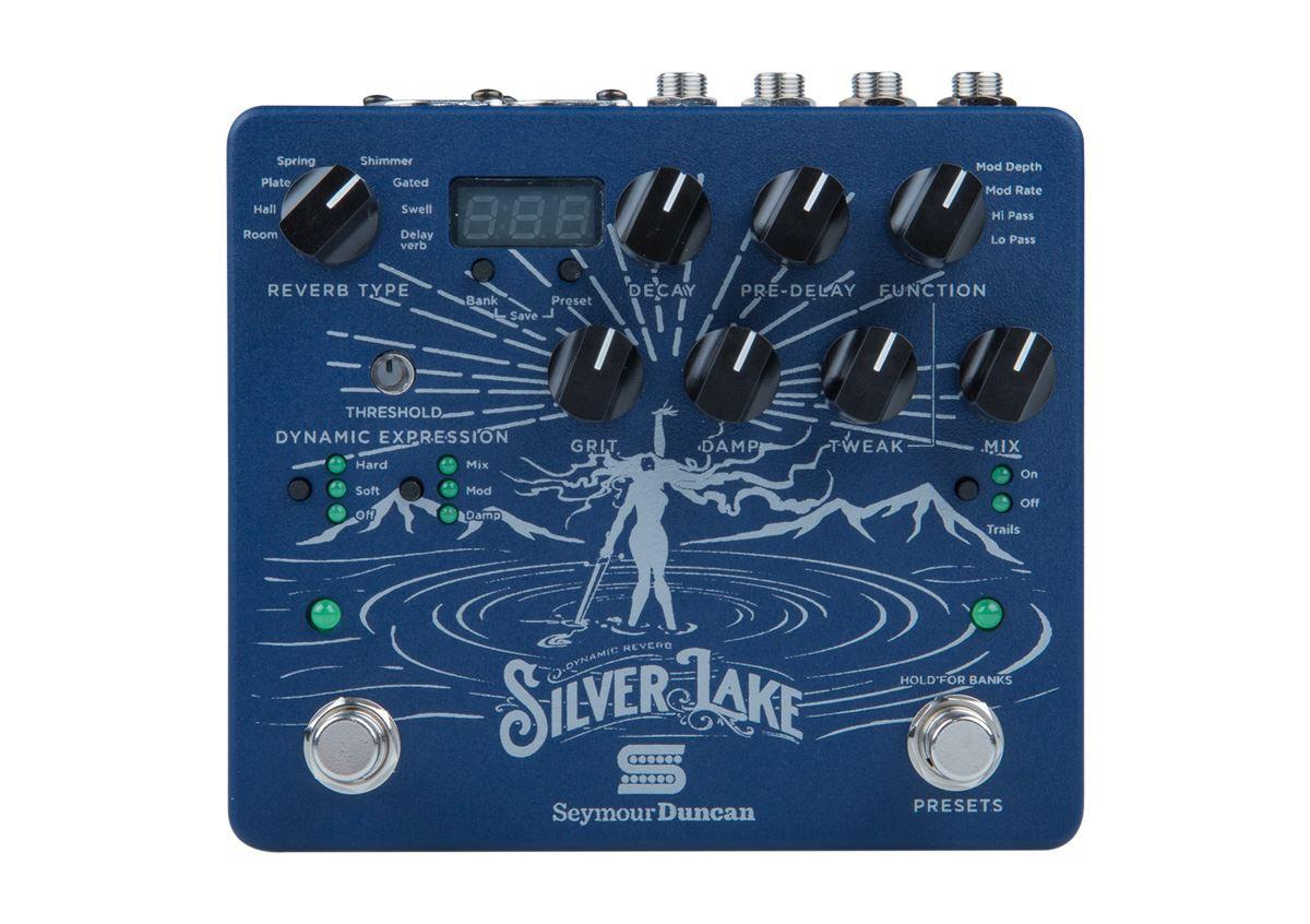 Seymour Duncan Silver Lake Reverb Workstation pedal