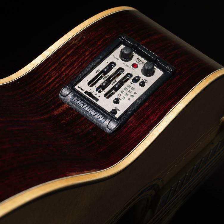 Fishman Aura Pro Guitar Preamp / EQ w/ Matrix Undersaddle Pickup - narrow